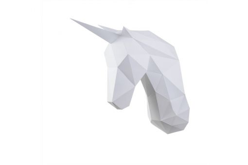 Wizardi 3D Papercraft Bastelpackung - UNICORN