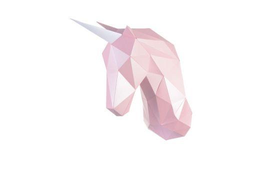 Super SALE Wizardi 3D Papercraft Bastelpackung - UNICORN