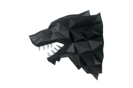 Wizardi 3D Papercraft Bastelpackung - WEREWOLF
