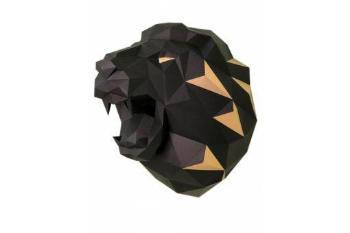 Wizardi 3D Papercraft Bastelpackung - LION