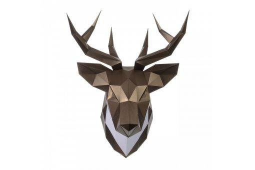Wizardi 3D Papercraft Bastelpackung - DEER