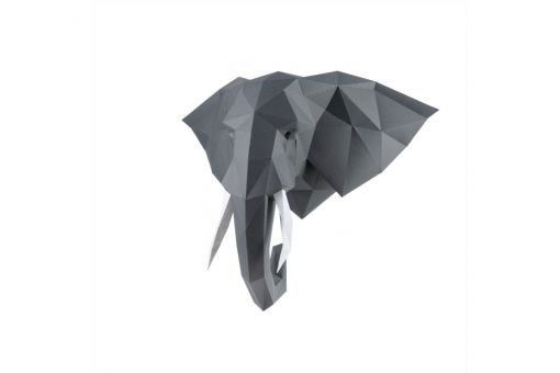 Wizardi 3D Papercraft Bastelpackung - ELEPHANT