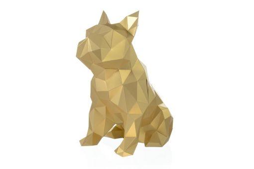 Wizardi 3D Papercraft Bastelpackung - BULLDOG