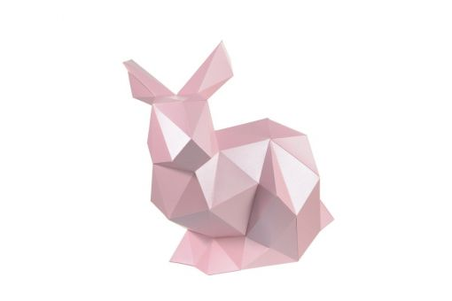 Wizardi 3D Papercraft Kit - Rabbit