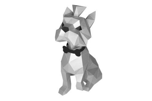 Wizardi 3D Papercraft Bastelpackung  WIZARDI 3D PAPERCRAFT KIT YORKSHIRE TERRIER