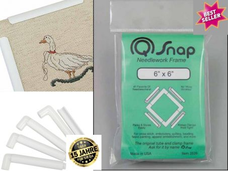 "Stickrahmen Q-Snap 1 - 15 x15 cm (6""x6"" inches)"