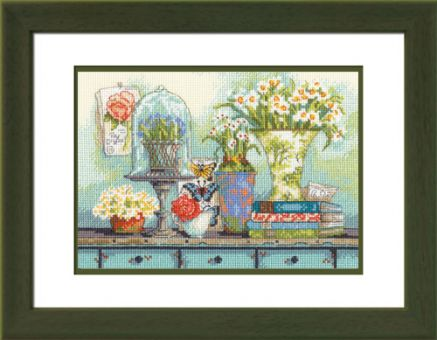 Dimensions Crafts Gold Petite - Garden Collectibles
