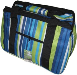 Hobbytasche JanetBasket - Blue Stripes