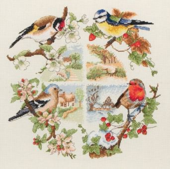 Super SALE Anchor - Jahreszeiten - Birds And Seasons