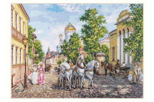 Alisa - THREE HORSES. THE TEMPLE OF CHRIST