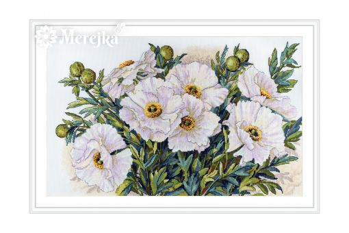 Merejka - WHITE FLOWERS