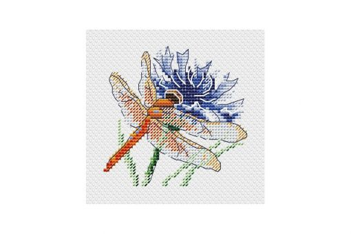 MP Studia - DRAGONFLY AND CORNFLOWER