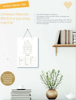 Super SALE Anchor - Immerwährender Stickkalender - Auch für Anfänger geeignet!