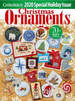 Just Cross Stitch - Christmas Ornaments 2020