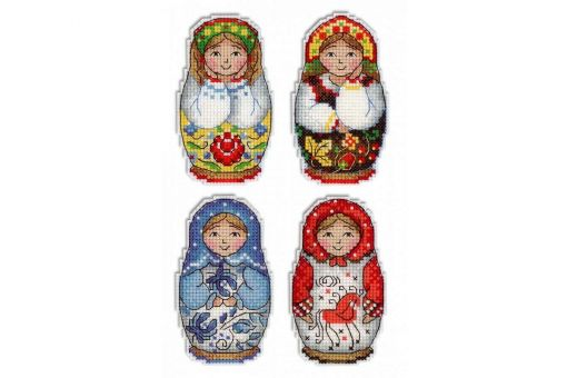 MP Studia - RUSSIAN DOLLS. MAGNETS