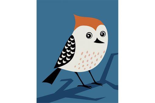 Malen nach Zahlen - BIRD