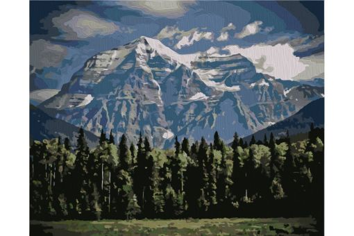 Paint by Numbers kit - MOUNTAINS