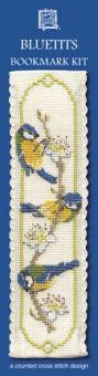 Textile Heritage - Bluetits Lesezeichen