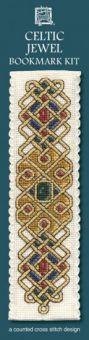 Textile Heritage - Celtic Jewel Lesezeichen