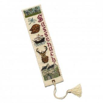 Textile Heritage - Outlander InspiredTM Bookmark