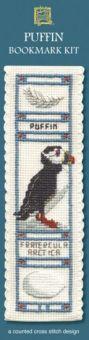 Textile Heritage - Puffin Lesezeichen