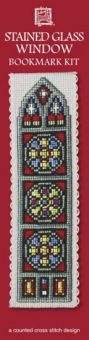 Textile Heritage - Stained Glass Window Bookmark
