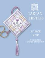 Textile Heritage - Tartan Thistles Scherenanhänger