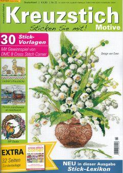 German Magazine Kreuzstich Motive 21
