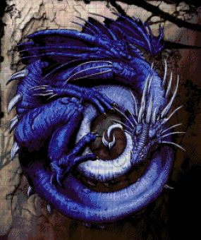 Tokareva bead embroidery - Herr der Ringe