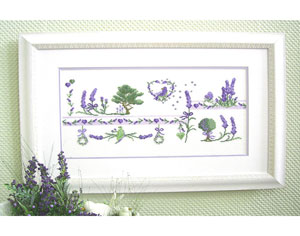 UB-Design - Mustertuch Lavendel
