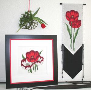 UB-Design - Tulpenleuchten in ROT