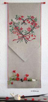 UB-Design - Vogelgesang im roten Blütenherz