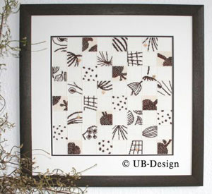 UB-Design - Patchwork im Quadrat