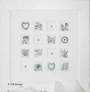 UB-Design - Blumeninchies BLAU