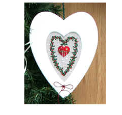 UB-Design - Passepartout-Heart Heart Cut Out White