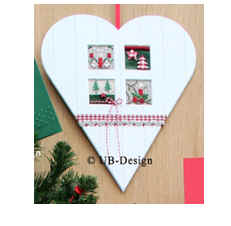 UB-Design - Photo Mount Heart Country Style