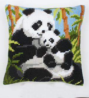 Vervaco Kreuzstichkissen - Panda 1200-134