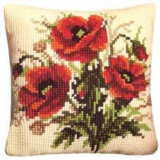 Vervaco Cross Stitch Cushion Kit - 1200-222