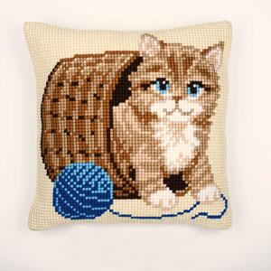 Vervaco Cross Stitch Cushion Kit - 1200-417