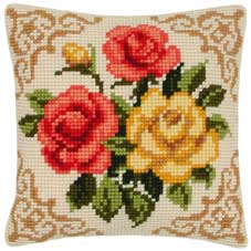 Vervaco Cross Stitch Cushion Kit - 1200-613