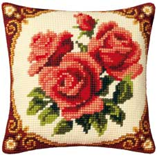 Vervaco Cross Stitch Cushion Kit - 1200-614