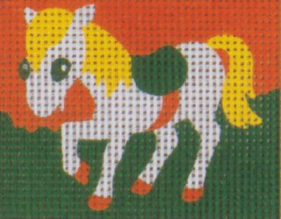 Vervaco - Weißes Pferd Anfängerstickpackung 2521