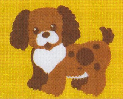 Vervaco - Hund Anfängerstickpackung 2543