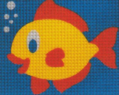 Vervaco - Fisch Anfängerstickpackung 2545