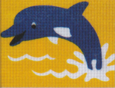 Vervaco - Delphin Anfängerstickpackung 2549