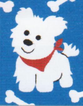 Vervaco - Weisser Hund Anfängerstickpackung 2572