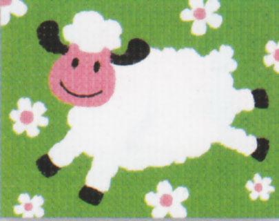 Vervaco - Schaf Anfängerstickpackung 2573