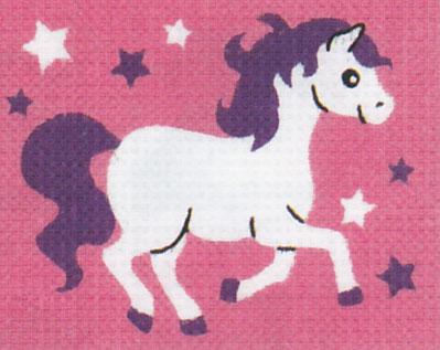 Vervaco - Pferd Anfängerstickpackung 2591