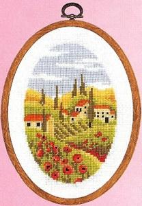 Super SALE Vervaco - Toscana (mit Rahmen)