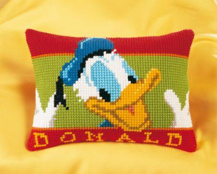 Vervaco Disney Kreuzstichkissen - Donald Duck
